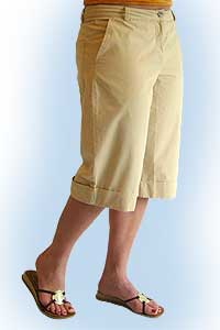 Alice shorts sand<br><b>nog in 36</b>