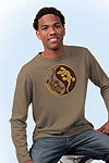 Arne longsleeve lightbrown<br><b>in M, L, XL, XXL</b>