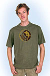 Arne shortsleeve olivegreen<br><b>nog in XL</b>