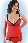 Charlyne nighty red<br><b>in 38 en 40</b>