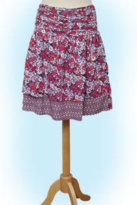 Dakota skirt flowers<br><b>nog in XL</b>