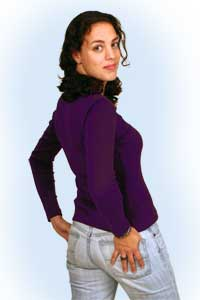 Diana purple<br><b>nog in L, XL</b>