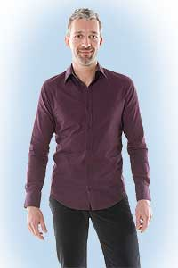 Dino aubergine<br><b>nog in M en XL</b>