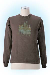 Forest longleeve darkbrown<br><b>nog in M en XXL</b>