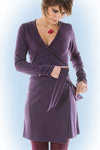 Gaby dress purple<br><b>nog in M, L, XL</b>
