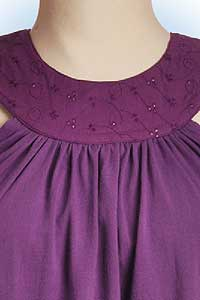 Isis purple<br><b>nog in S, XL</b>