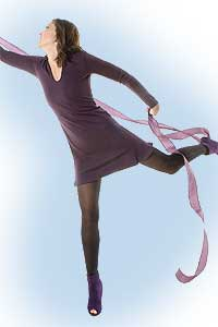 Jerry dress purple<br><b>nog in S, M, L</b>