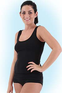 Lana boxerslip<br><b>nog in black M, XL</b>