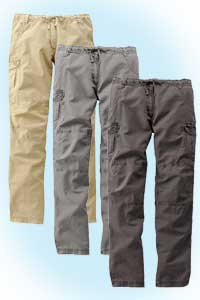 Lara pants<br>grey/sand