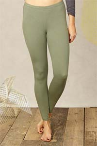 Legging Bamboo Long<br>multiple colours