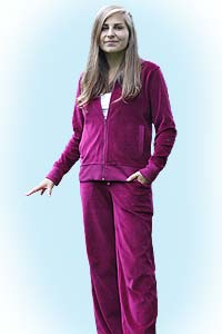 Nicky relaxsuit fuchsia<br><b>nog in XL</b>