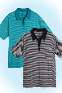 Rene striped<br><b>nog in black S M</b>
