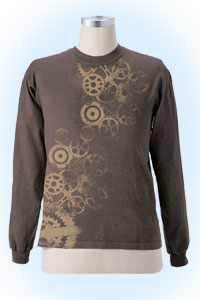 Rocco longsleeve darkbrown