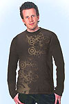 Rocco longsleeve darkbrown<br><b>in M, L, XL</b>