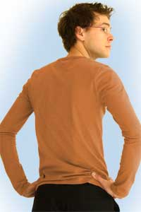 Sean rusty orange<br><b>nog in XXL</b>
