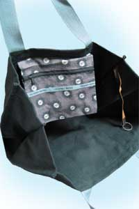 Shopper XL greyblue