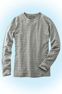 Theo striped lightgrey<br><b>nog in M</b>