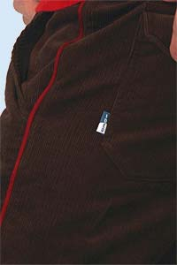 Vince corduroy brown<br><b>nog in M, XL</b>