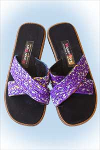 Wicky slippers purple