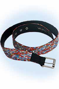 Wicky belt red-blue