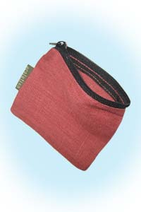 Zippered pouch small